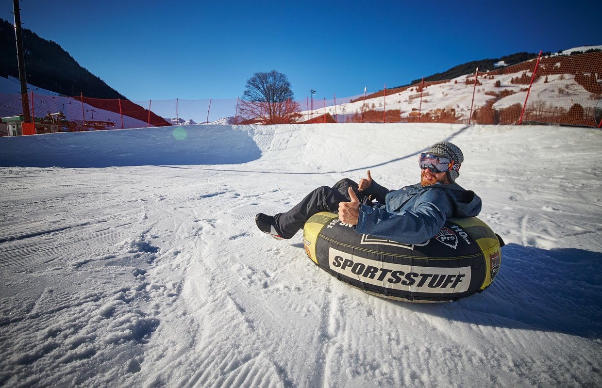 Wintersport Alternativ Snowtubing